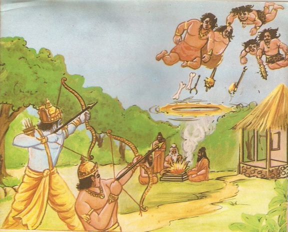 राम और लक्ष्मण